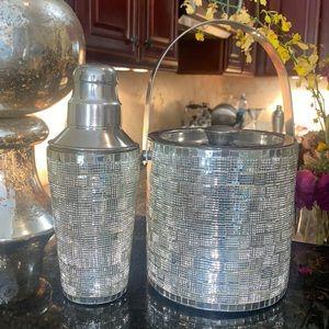 Zgallerie Ice Bucket & Cocktail Shaker